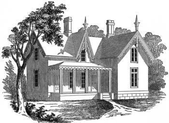 Characteristics Of Pointed Gothic Cottage Architecture