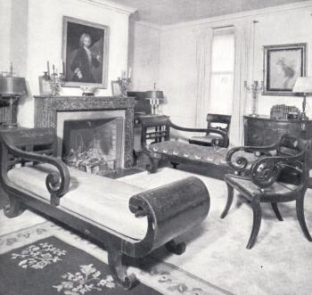 Empire Furniture In The Tenney House