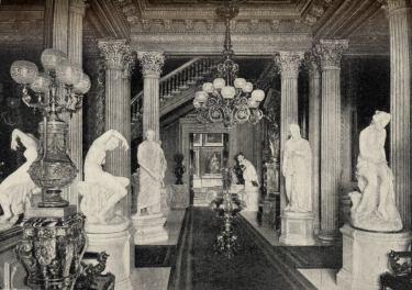 Interior Of A T Stewart Residence Six Flights Of Splendor