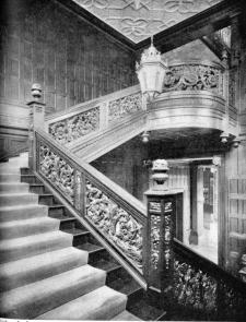 Interior Of The Mackay House Harbor Hill From
