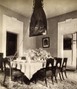 The punka cooling the souths dining rooms before the ceiling fan aloadofball Choice Image