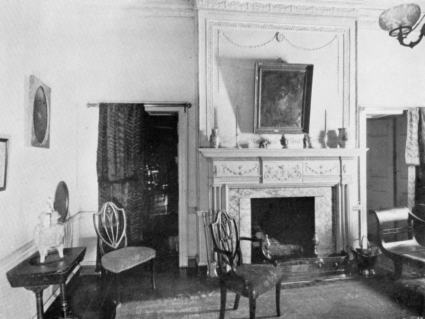 1920s living room interior of 1792 moses myers house norfolk va as 10178